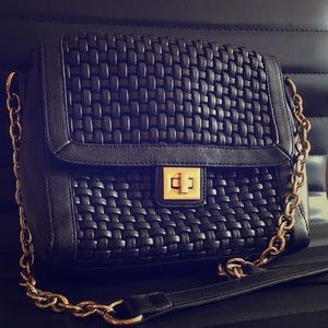 Handbags - Black and Gold purse